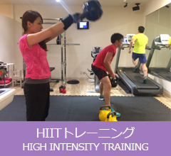 HIITトレーニング(High Intensity Training)